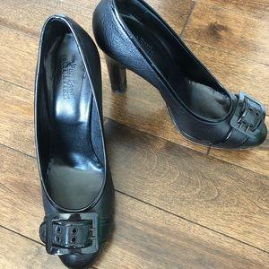 Jean Paul Gaultier black pumps